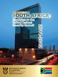 South Africa - Department of International Relations and Cooperation