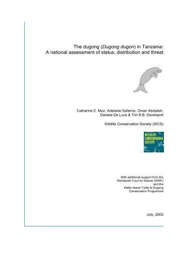 Dugong dugon - Sirenian International