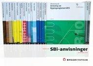 SBi-anvisninger - Byggecentrum