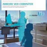 ARBEJDE VED COMPUTER - BAR - privat kontor.