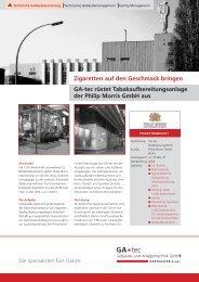 BP_Philip Morris_050208.indd - GA-tec Gebäude- und ...