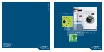 innovazione e risparmio - Indesit