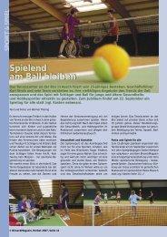 Spielend am Ball bleiben - Birseck Magazin