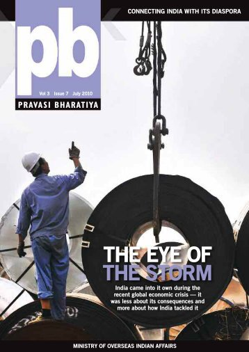 the eye of the storm - Overseas Indian