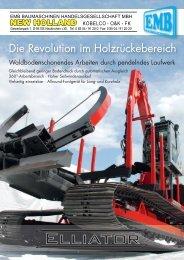 Die Revolution im Holzrückebereich - ELLIATOR