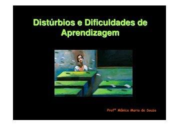 Distúrbios e Dificuldades de Aprendizagem - Instituto Consciência GO
