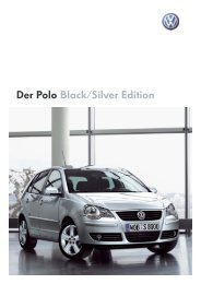 Der Polo Black/Silver Edition - MyPolo