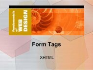 7. Form Tags
