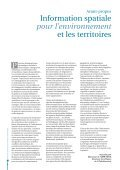 Information spatiale pour l'environnement et les territoires - Page 4