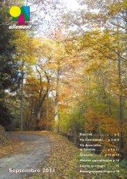 Septembre 2011 - Allemont