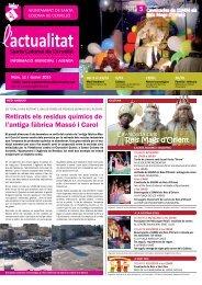 L'Actualitat de Gener de 2013 - Ajuntament de Santa Coloma de ...