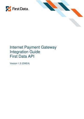 First data global gateway Virtual terminal Manual