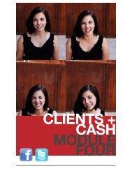 CLIENTS + CASH MODULE FOUR - Pura Vida MultiMedia