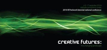 National Conference 2010 - Flyer - VETnetwork Australia