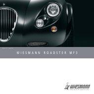 WIESMANN-ROADSTER WIESMANN ROADSTER MF3