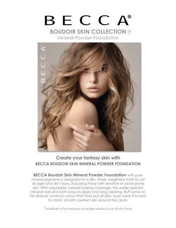Boudoir Skin Collection USA - Beauty Fashion Sales