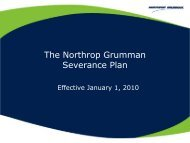 NGHP Severance Plan Rev 0610 - Benefits Online