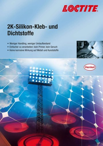 2K-Silikon-Kleb- und Dichtstoffe - Henkel
