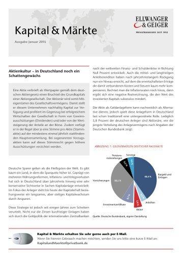 Kapital & Märkte, Ausgabe Januar 2015