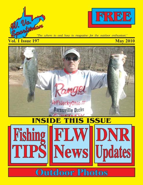 Vol. 1 Issue 197 May 2010 - Wvasportsman.net