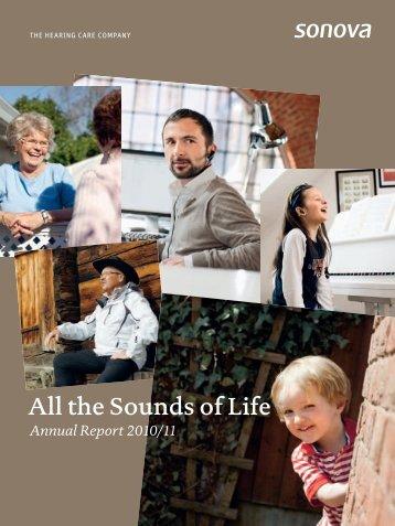 Annual Report 2010/11 - Sonova