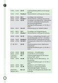 lehrgangsprogramm 2 0 1 1 - der Podologie-Schule Hannover - Seite 6