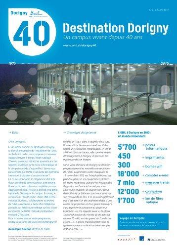 Destination Dorigny - Université de Lausanne