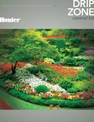 Drip Zone Control Kit Brochure - Hunter Industries