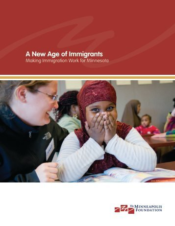 A New Age of Immigrants - Amherst H. Wilder Foundation