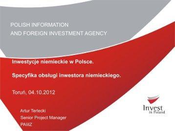 inwestycje niemieckie w polsce