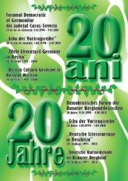 Einige Gedanken zum Jahresende 2009 - Demokratisches Forum ...