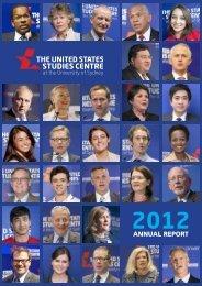 2012 Annual Report - United States Studies Centre