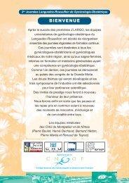 Programme - Alpha Visa Congrès