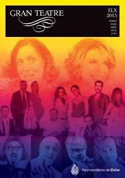 Programació Gran Teatre Febrer-Juny 2015
