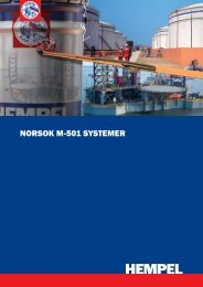 NORSOK M-501 SYSTEMER - Joma trading Norway AS