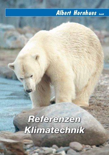 Referenzen Klimatechnik - Albert Hornhues GmbH