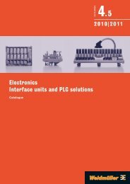 Electronics Interface units and PLC solutions