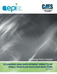 Economic and Employment Impacts of Small Modular Reactors - SMR