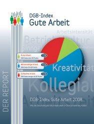 Der Report - DGB-Index Gute Arbeit