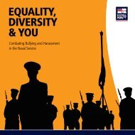 equality diversity & you - Royal Navy