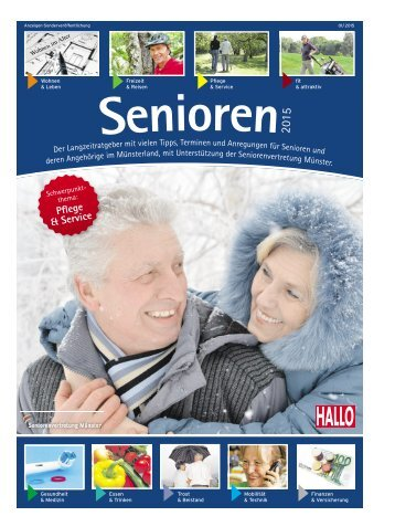 Senioren Sonderbeilage 01/2015