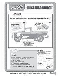 The Only Aftermarket Source For A Full Line Of ... - Dorman Products