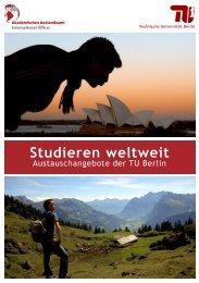 Broschüre Weltweit Studieren (PDF, 1,7 MB) - Akademisches ...