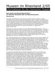 Wem gehört die Migrationsgeschichte? - RheinischeMuseen.de