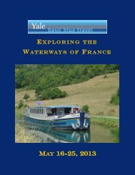 MAY 16-25, 2013 - Yale University