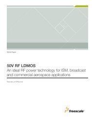 50v rf ldmos - Freescale Semiconductor
