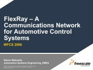 FlexRay – A Communications Network for Automotive Control Systems