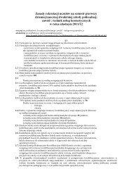 Zasady rekrutacji - Zespół Szkół Zawodowych Nr 2 w Białymstoku
