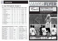 STATISTIK - FC Aarau