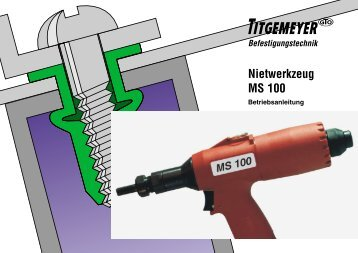Nietwerkzeug MS 100 - Titgemeyer